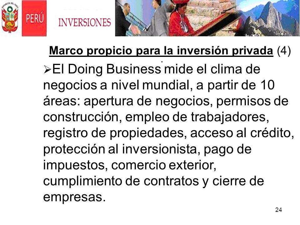 Marco propicio para la inversión privada (4)