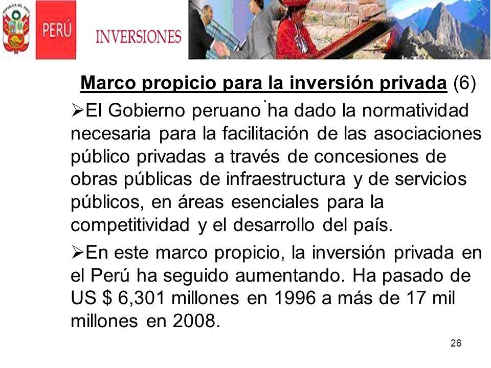 Marco propicio para la inversión privada (6)