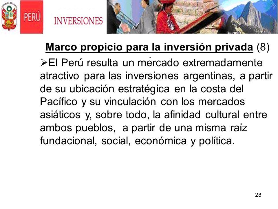 Marco propicio para la inversión privada (8)