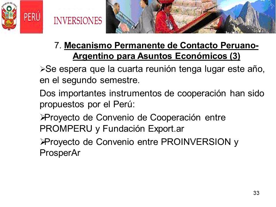 Proyecto de Convenio entre PROINVERSION y ProsperAr .