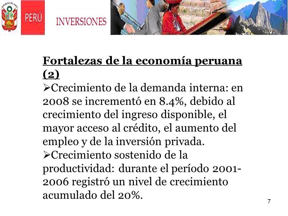 Fortalezas de la economía peruana (2)