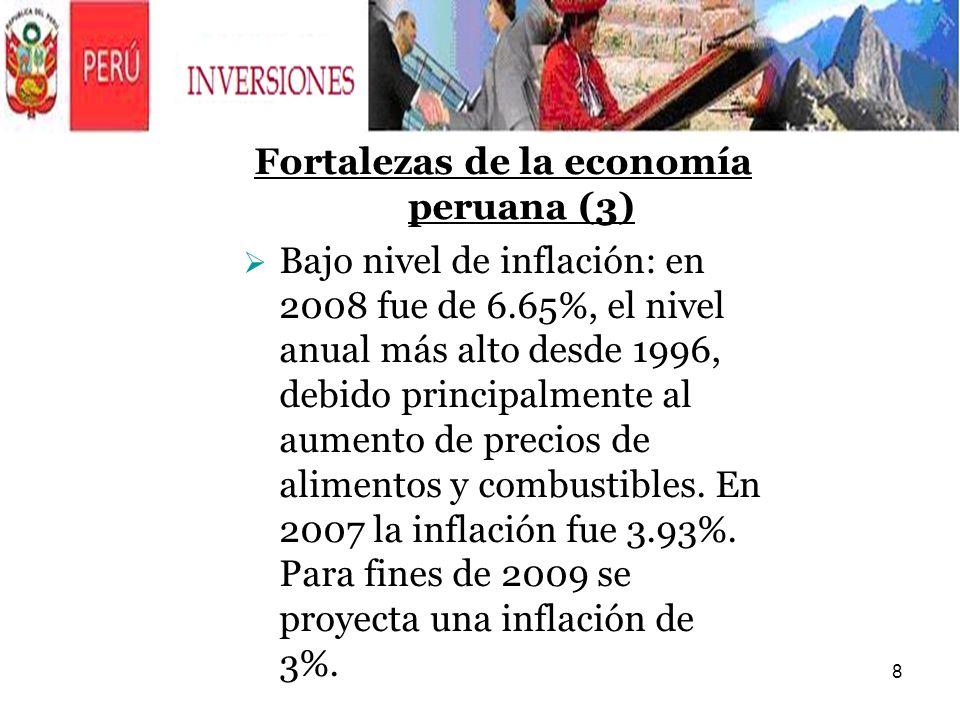 Fortalezas de la economía peruana (3)