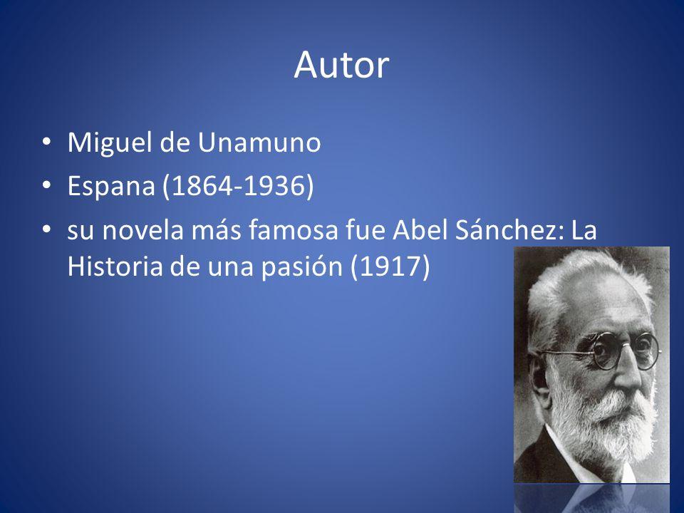 Autor Miguel de Unamuno Espana (1864-1936)