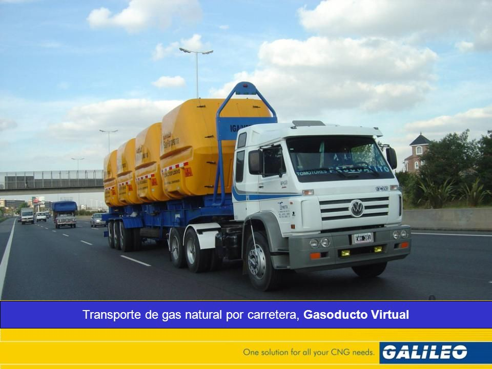 Transporte de gas natural por carretera, Gasoducto Virtual