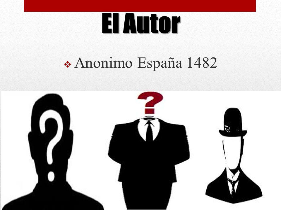 Anonimo España 1482 El Autor