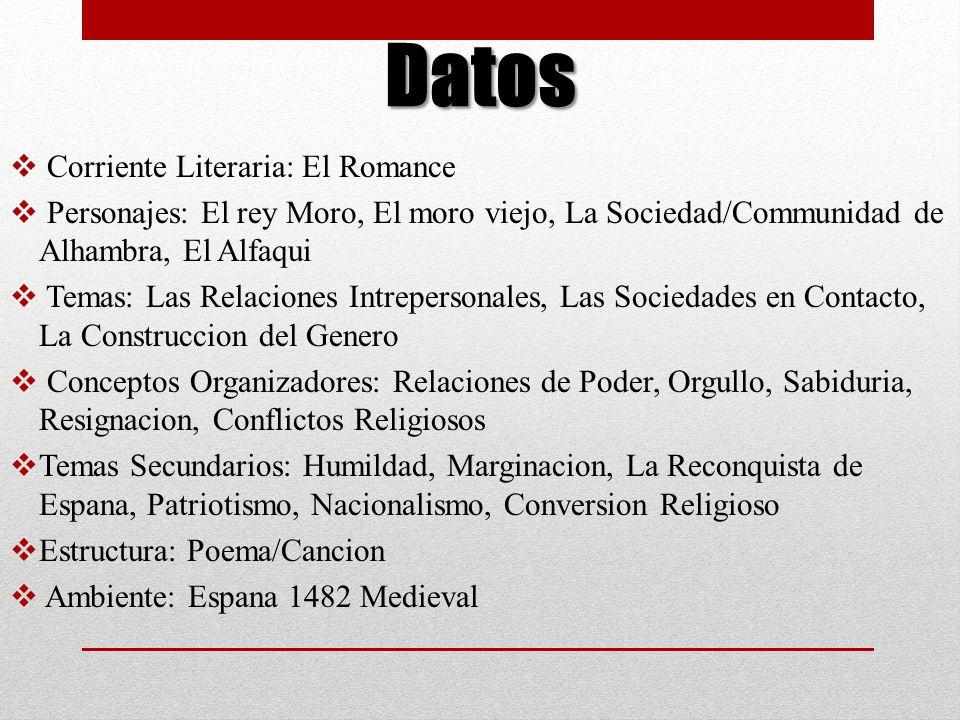 Datos Corriente Literaria: El Romance