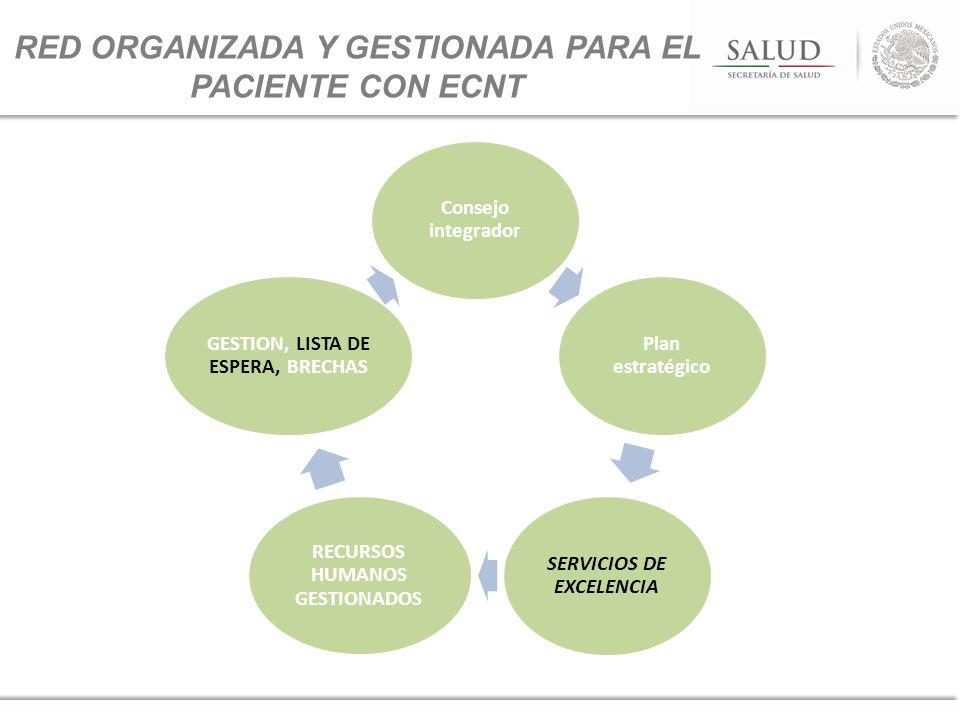 RED ORGANIZADA Y GESTIONADA PARA EL PACIENTE CON ECNT