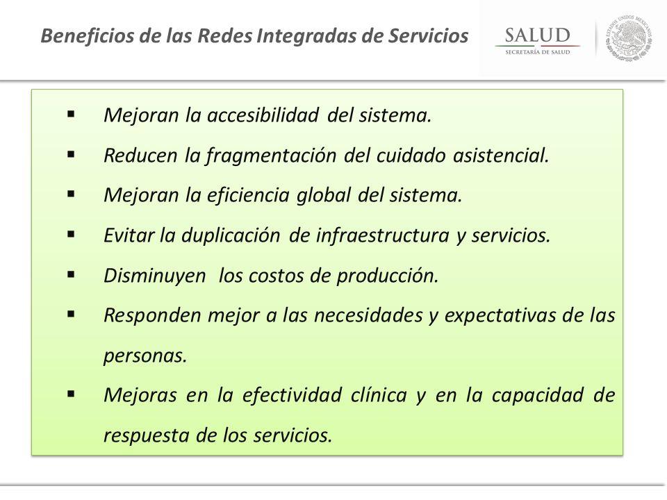 Beneficios de las Redes Integradas de Servicios