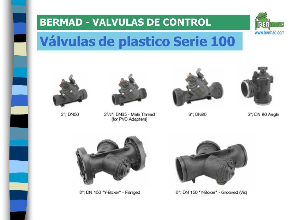 Válvulas de plastico Serie 100