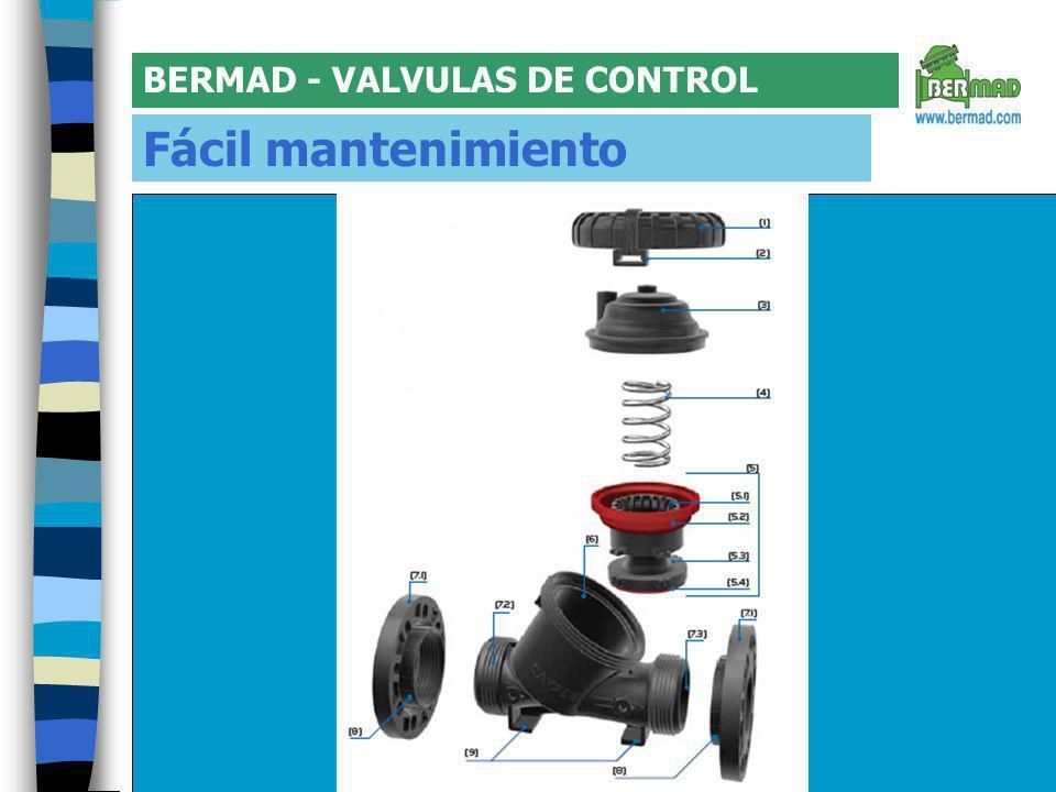 BERMAD - VALVULAS DE CONTROL