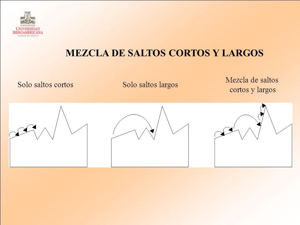 MEZCLA DE SALTOS CORTOS Y LARGOS