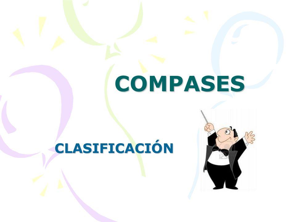 COMPASES CLASIFICACIÓN