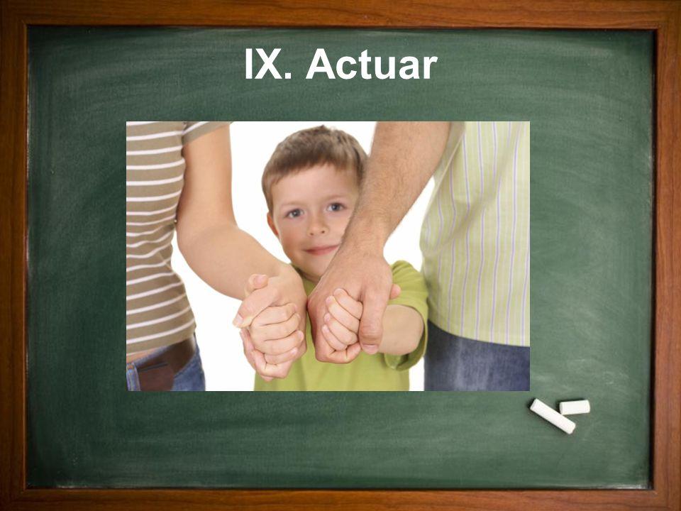 IX. Actuar