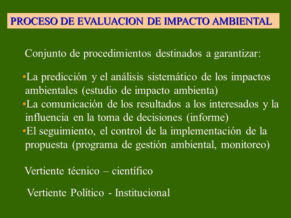 Conjunto de procedimientos destinados a garantizar:
