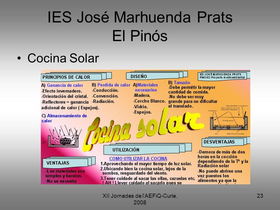IES José Marhuenda Prats El Pinós