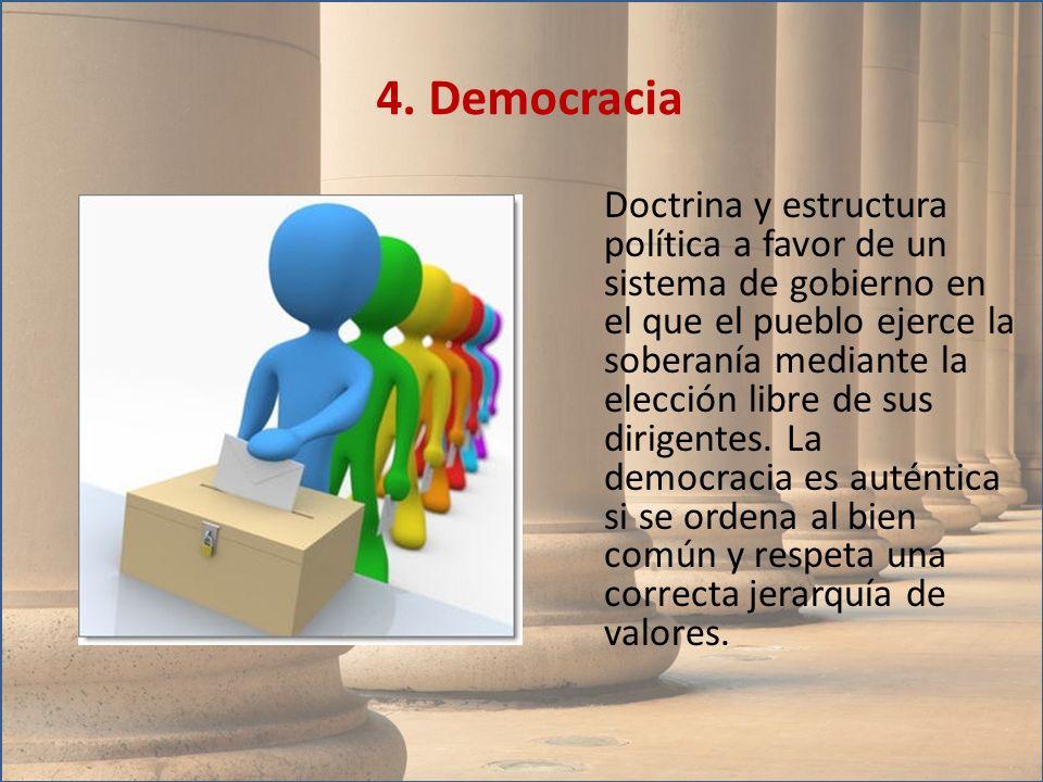 4. Democracia