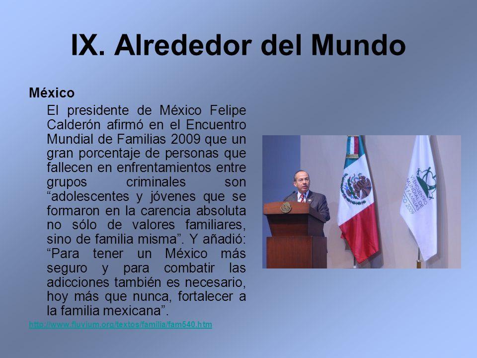 IX. Alrededor del Mundo México