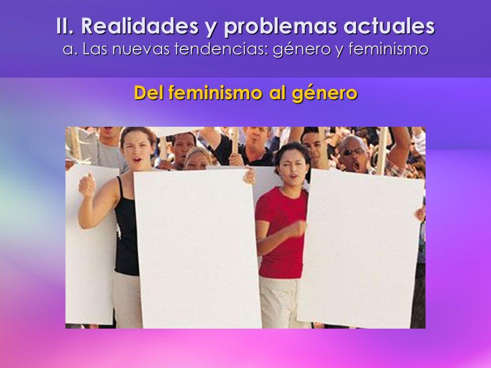 Del feminismo al género