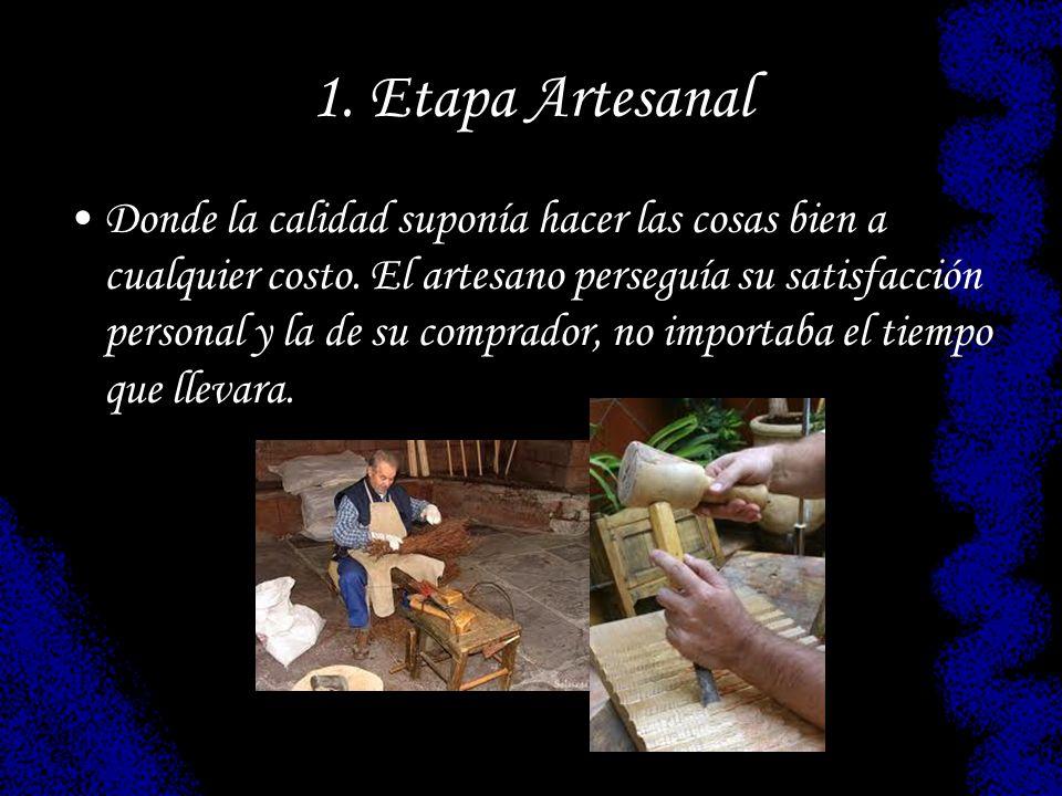 1. Etapa Artesanal