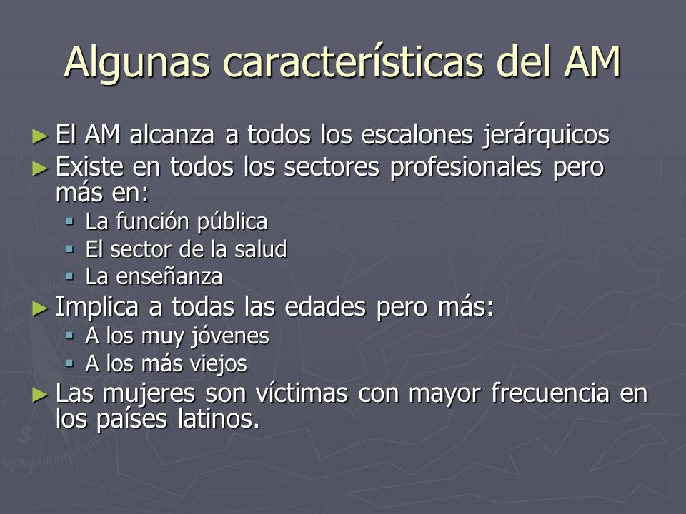 Algunas características del AM