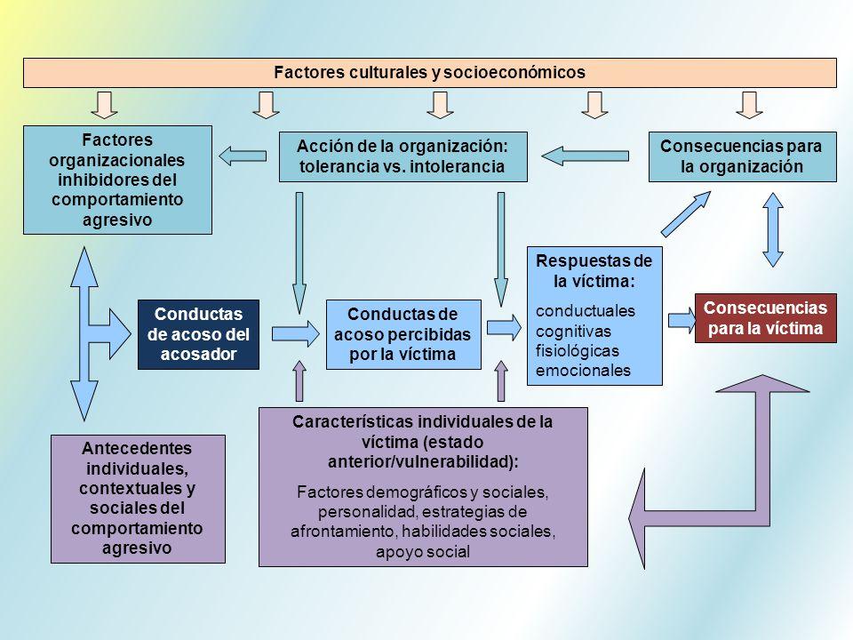 Factores culturales y socioeconómicos