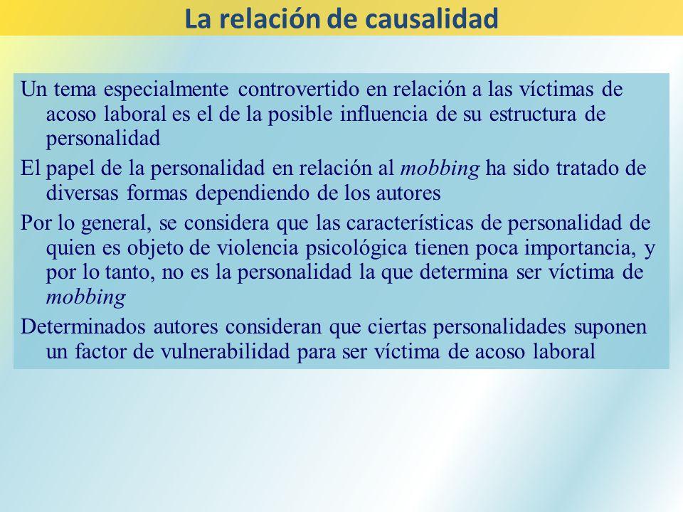 La relación de causalidad