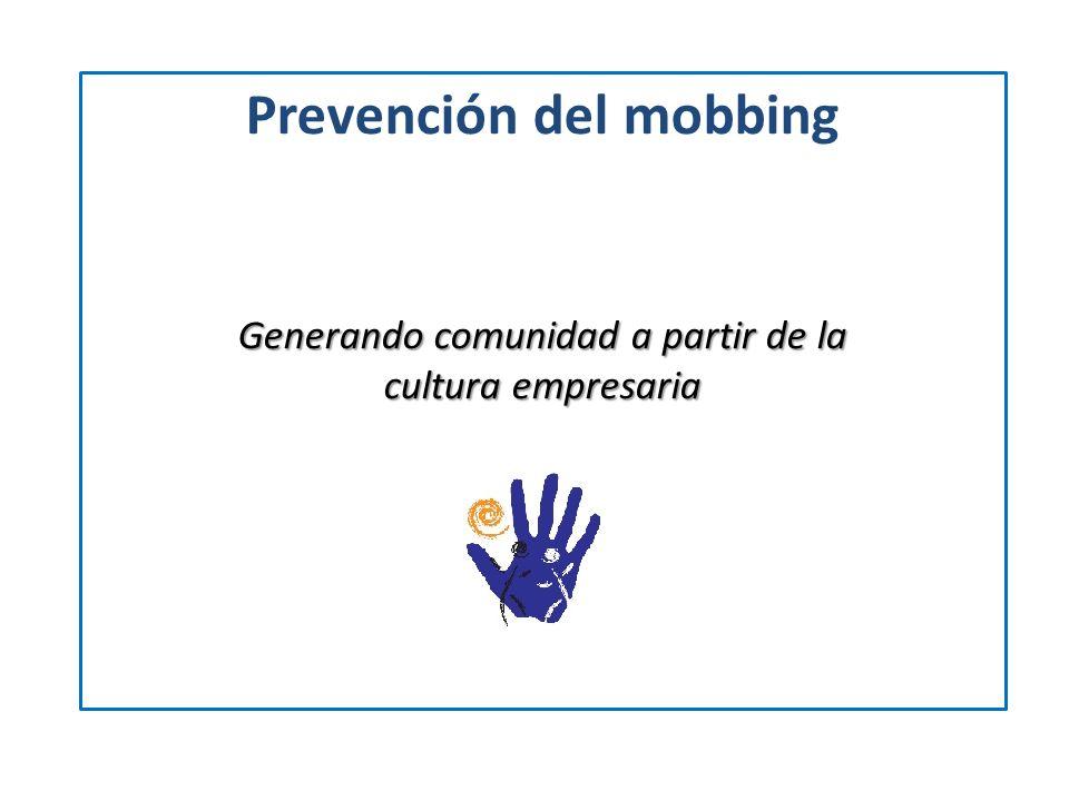 Prevención del mobbing