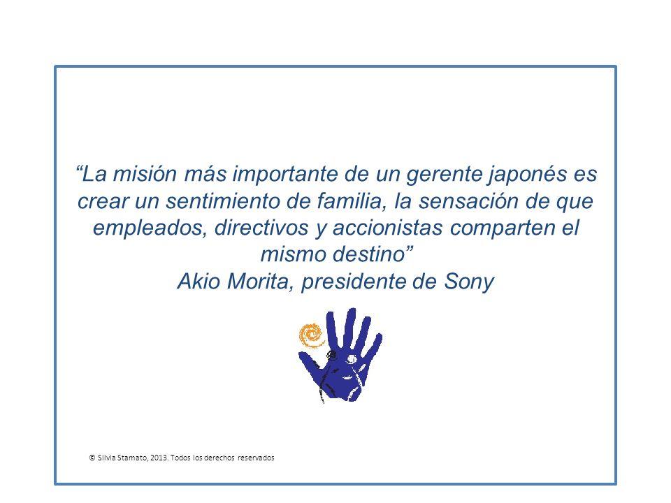 Akio Morita, presidente de Sony