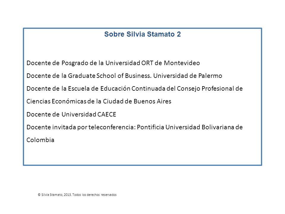 Docente de Posgrado de la Universidad ORT de Montevideo