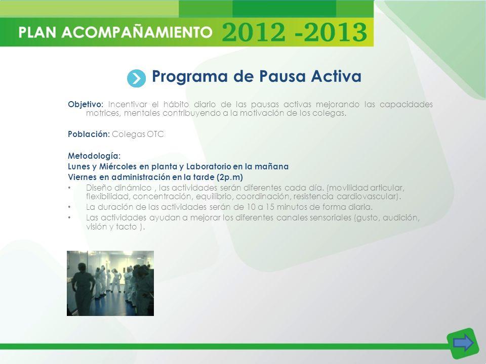 Programa de Pausa Activa