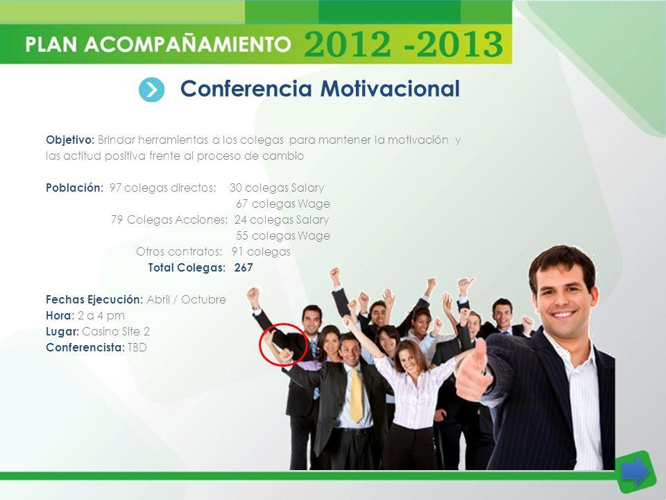 Conferencia Motivacional
