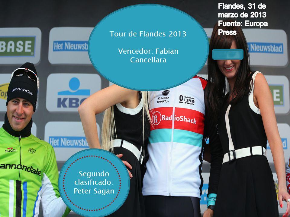 Vencedor: Fabian Cancellara