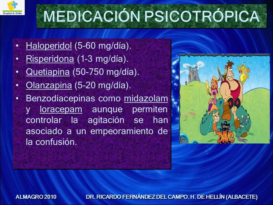 MEDICACIÓN PSICOTRÓPICA