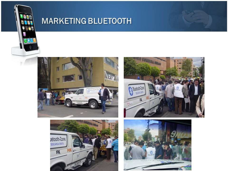 MARKETING BLUETOOTH
