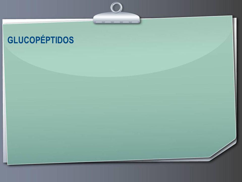 GLUCOPÉPTIDOS 30 30