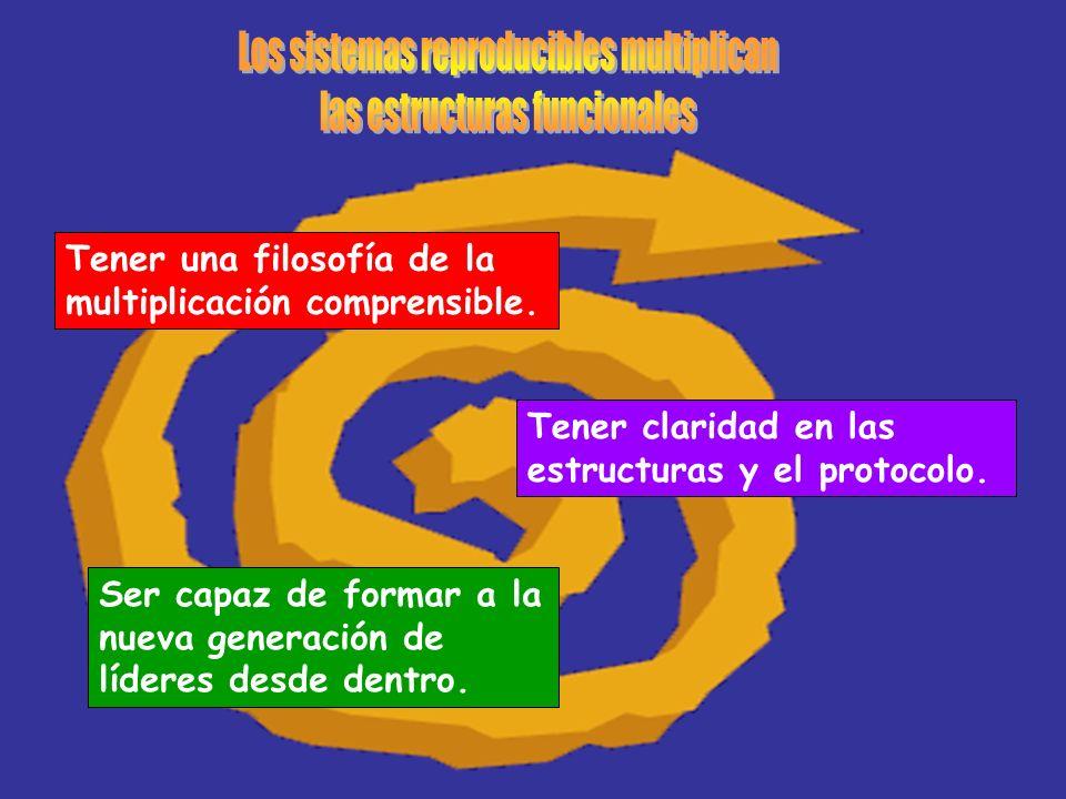 Los sistemas reproducibles multiplican las estructuras funcionales