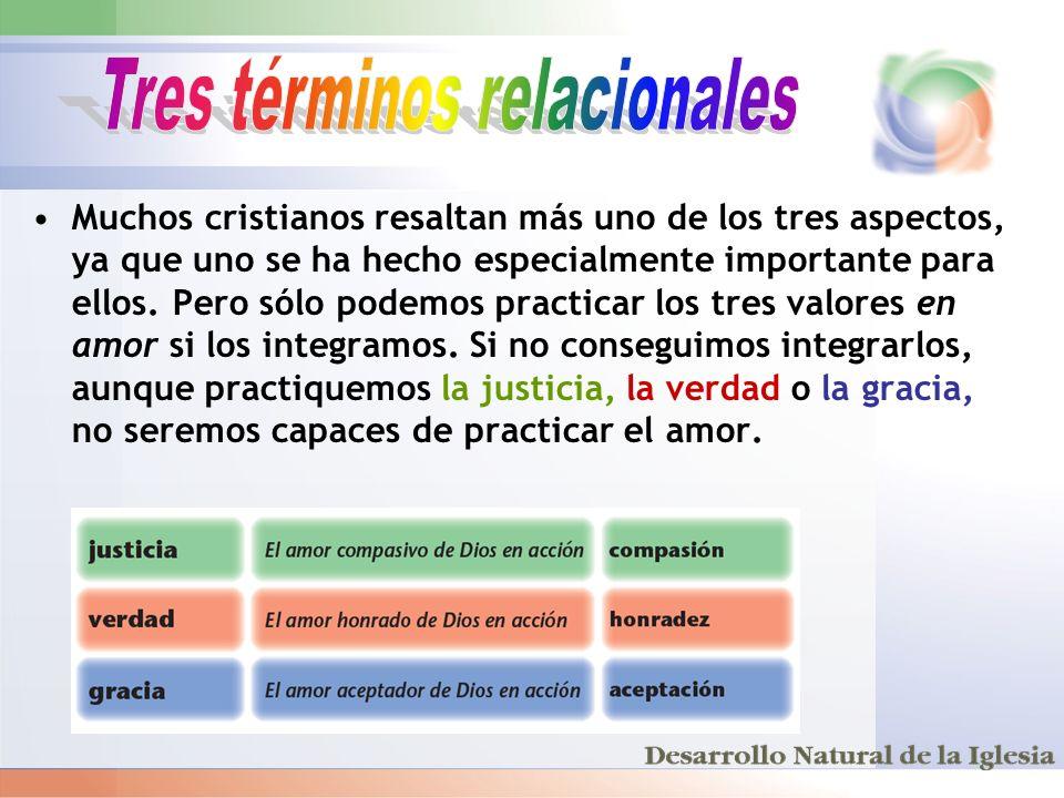 Tres términos relacionales