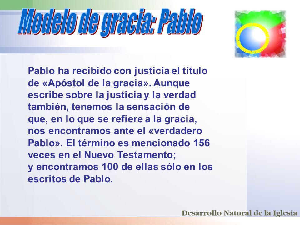 Modelo de gracia: Pablo