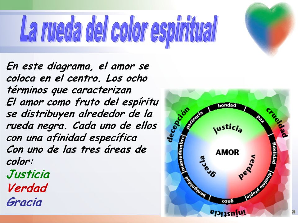 La rueda del color espiritual