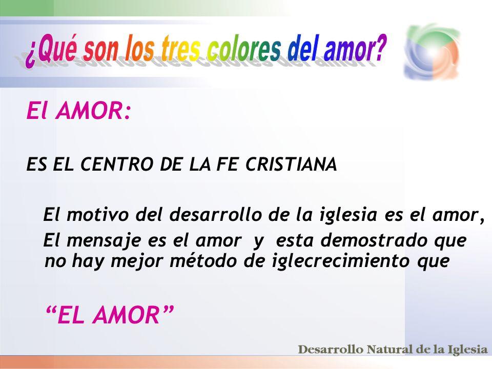 ¿Qué son los tres colores del amor