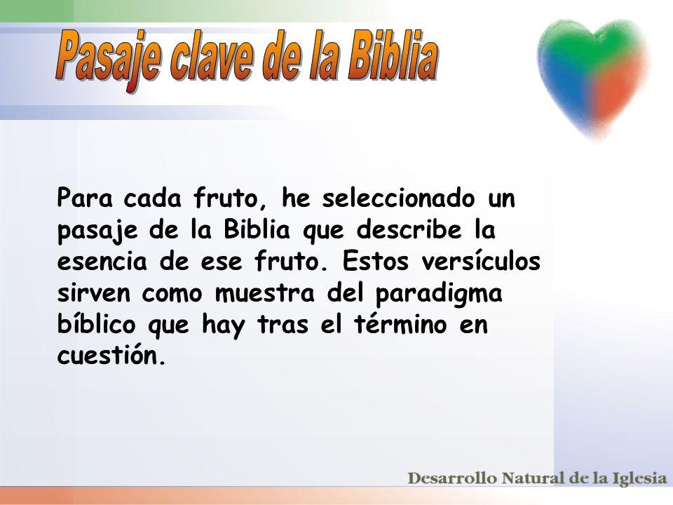 Pasaje clave de la Biblia