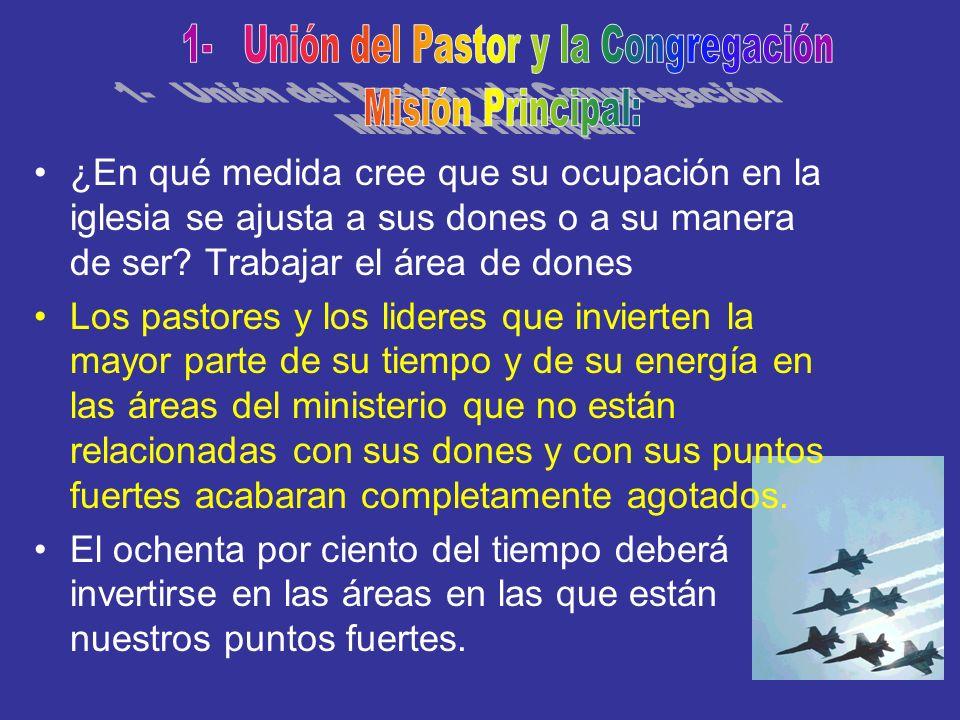 1- Unión del Pastor y la Congregación