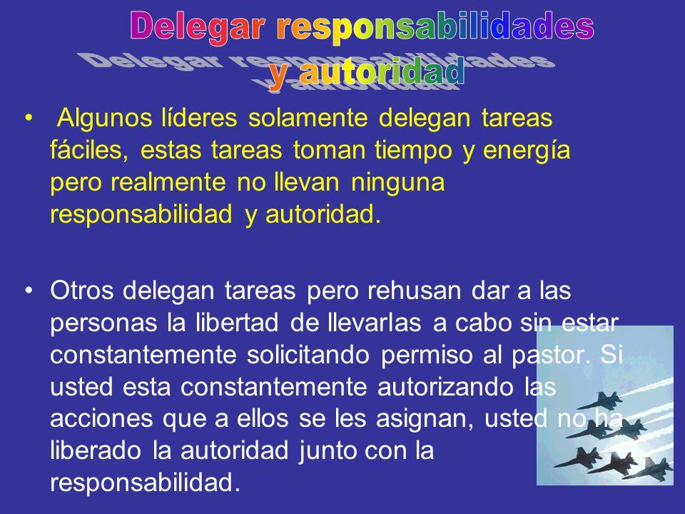 Delegar responsabilidades