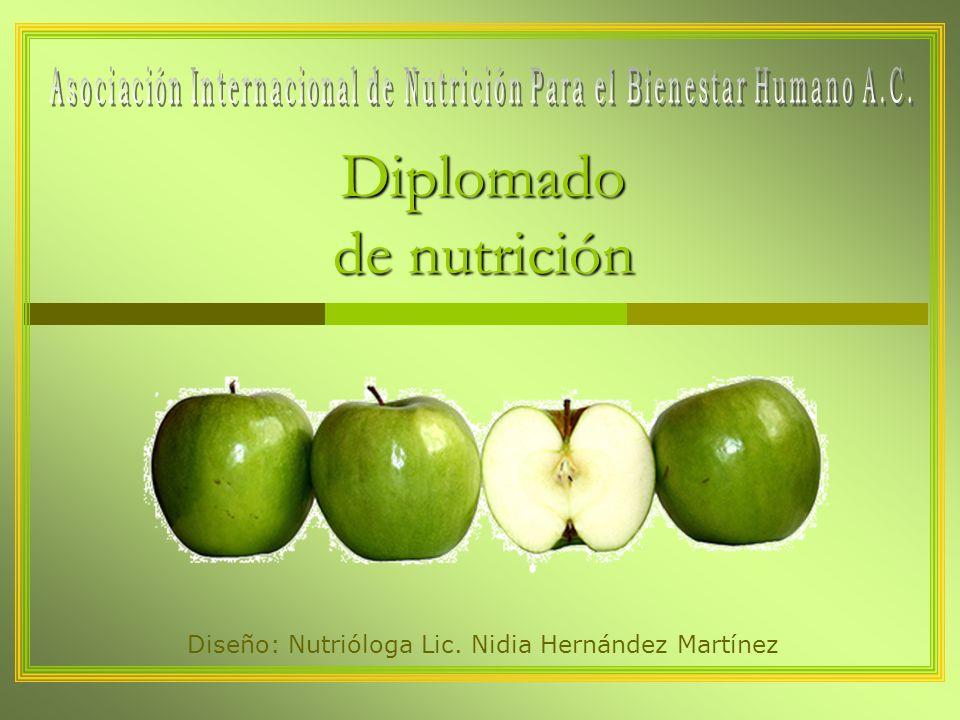 Diplomado de nutrición