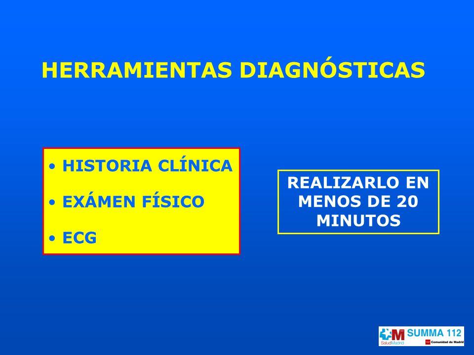 HERRAMIENTAS DIAGNÓSTICAS REALIZARLO EN MENOS DE 20 MINUTOS