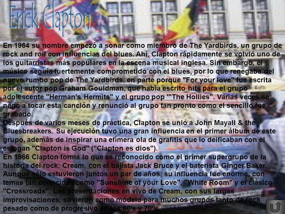 Erick Clapton