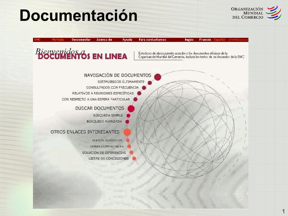 1. Documentos en línea