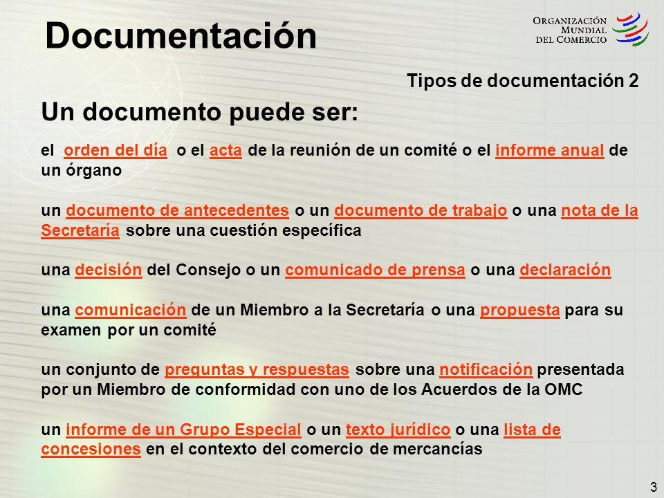 Un documento puede ser:
