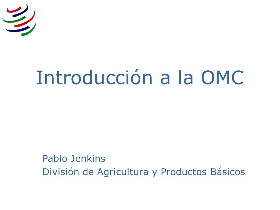 Pablo Jenkins División de Agricultura y Productos Básicos
