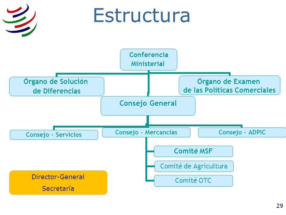 Estructura Director-General Secretaría